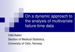 On a dynamic approach to the analysis of multivariate failure time data