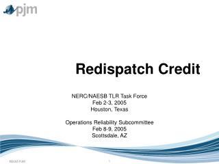 Redispatch Credit