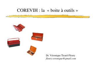 COREVIH : la «boite à outils»