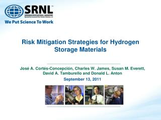 Risk Mitigation Strategies for Hydrogen Storage Materials