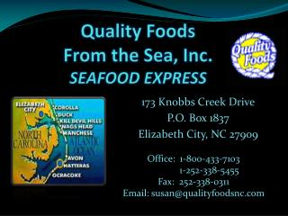 Quality Foods  From the Sea, Inc. SEAFOOD EXPRESS