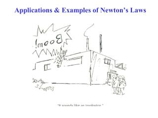 Applications & Examples of Newton's Laws