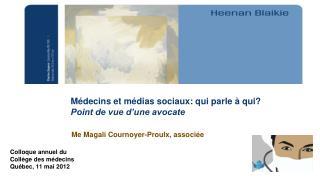 Me Magali Cournoyer-Proulx, associée