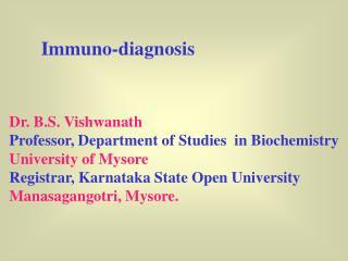 Immuno-diagnosis