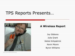 TPS Reports Presents…