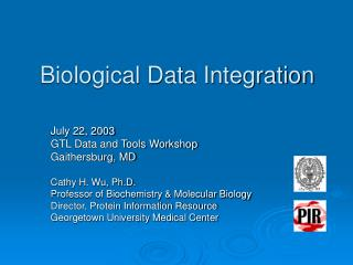 Biological Data Integration
