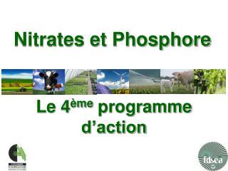Nitrates et Phosphore