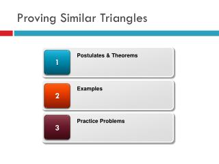 Proving Similar Triangles