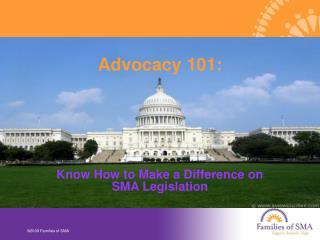 Advocacy 101: