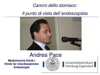 Medizinische Klinik I Klinik für interdisziplinäre Endoskopie