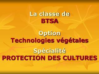 La classe de BTSA
