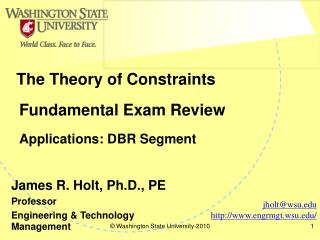Fundamental Exam Review