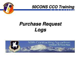 50CONS CCO Training