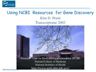 Using NCBI  Resources  for Gene Discovery