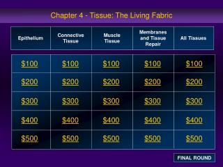 Chapter 4 - Tissue: The Living Fabric