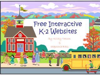 Free Interactive K-2 Websites