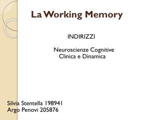 La Working Memory
