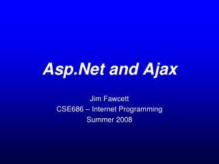 Asp.Net and Ajax