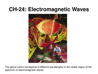CH-24: Electromagnetic Waves