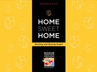 Home Sweet Home Renting and Buying Smart Workshop