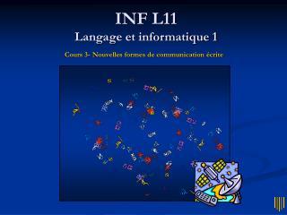 INF L11 Langage et informatique 1