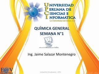 Ing. Jaime Salazar Montenegro