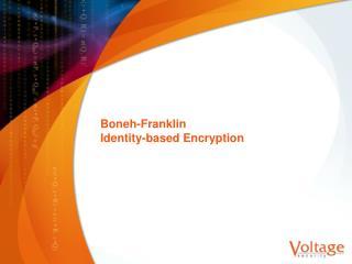 Boneh-Franklin Identity-based Encryption