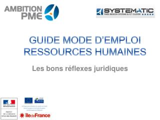 GUIDE MODE D'EMPLOI  RESSOURCES HUMAINES