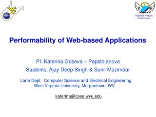 Performability of Web-based Applications