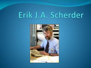 Erik J.A.  Scherder