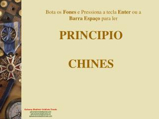 PRINCIPIO CHINES