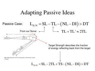 Adapting Passive Ideas