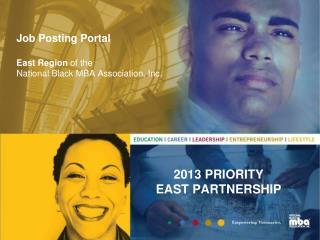 Job Posting Portal East Region  of the National Black MBA Association, Inc.