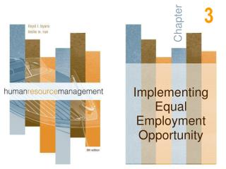 Implementing Equal Employment Opportunity