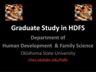 Graduate Study in HDFS
