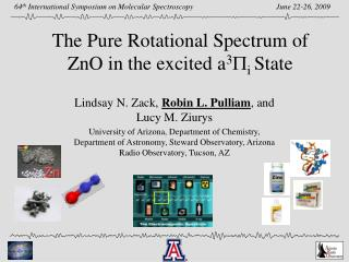 The Pure Rotational Spectrum of  ZnO  in the excited a 3 P i  State