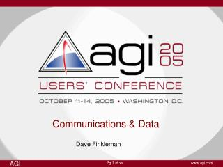 Communications & Data