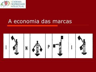 A economia das marcas