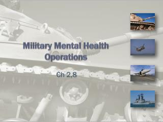 Military Mental Health Operations