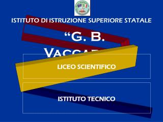 """""""G. B. Vaccarini"""""""