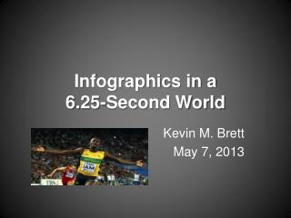 Infographics in a  6.25-Second World