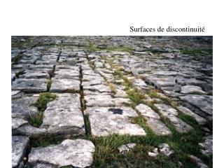 Surfaces de discontinuit�