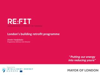 London's building retrofit  programme
