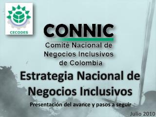 Estrategia Nacional de Negocios Inclusivos