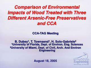 CCA-TAG Meeting