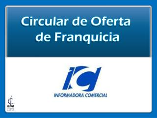 Circular de Oferta  de Franquicia