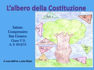 L'albero della Costituzione