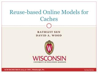 Reuse-based  Online Models for Caches