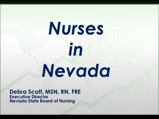 Debra Scott, MSN, RN, FRE