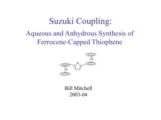 Suzuki Coupling: